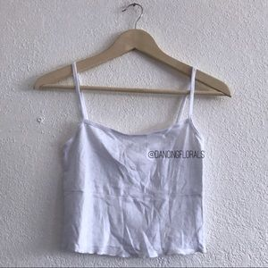 Brandy Melville Alani white tank top